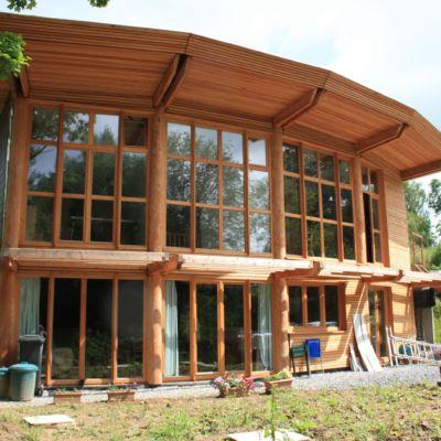 Bâtiment Maison Ossature Bois