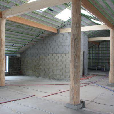 Bâtiment Poteau Intérieur Murano